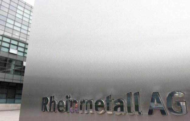 Rheinmetall Waffe Munition i Saab Grintek Defence razem /AFP
