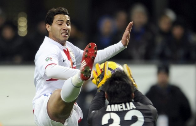 Ricardo Quaresma nie potrafił pomóc Interowi wygrać meczu z Genoą /AFP