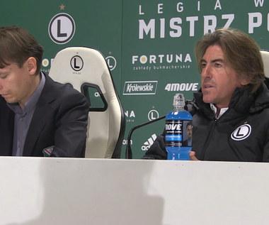 Ricardo Sa Pinto: Naszym celem jest pozycja lidera. Wideo