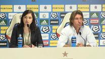 Ricardo Sa Pinto po meczu Legia - Zagłębie 2-1. Wideo