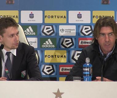 Ricardo Sa Pinto po meczu z Wisłą Kraków (3-3). Wideo