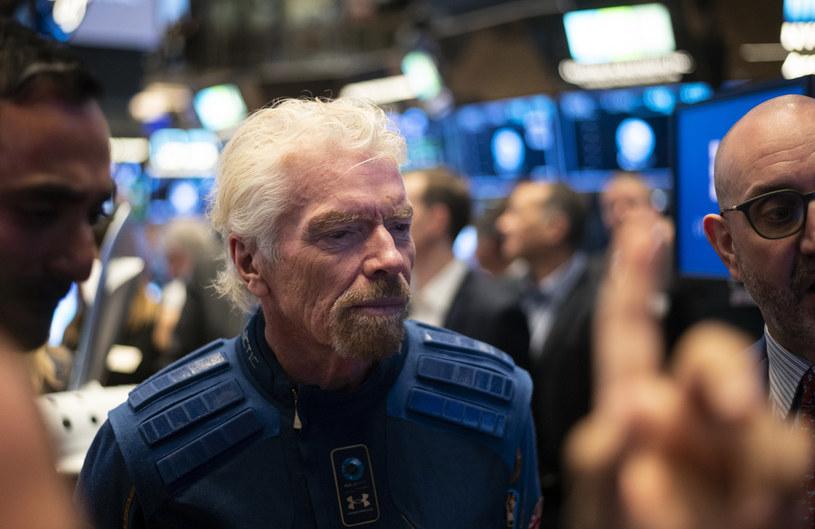 Richard Branson - szef Virgin Galactic /AFP