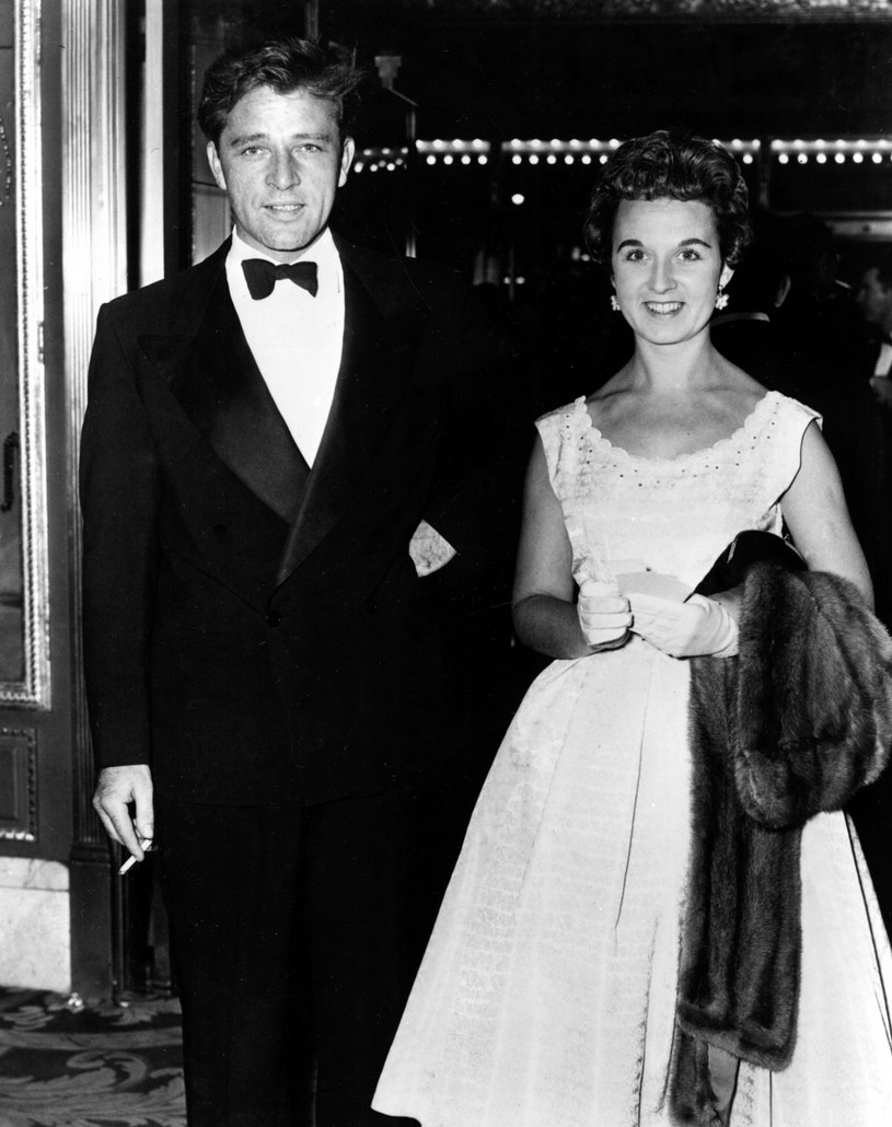 Richard Burton z pierwszą żoną, Sybil /Everett Collection /East News