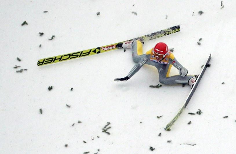 Richard Freitag upadł na Bergisel /AFP