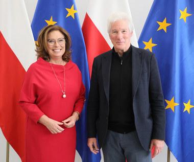 Richard Gere gościł w polskim Sejmie
