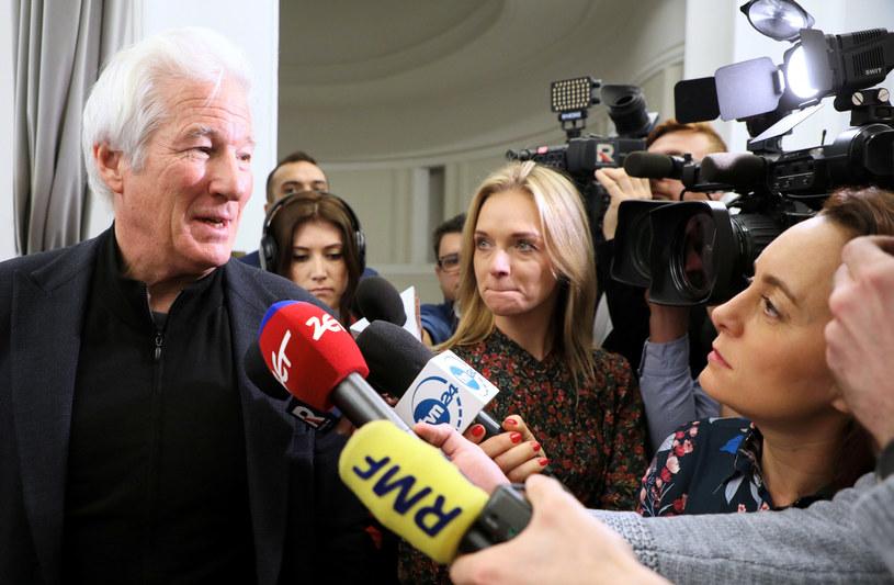 Richard Gere w Sejmie / Jakub Kamiński    /East News