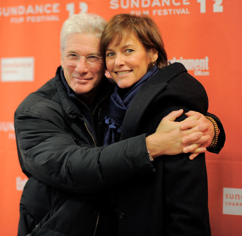 Richard Gere z żoną Carey /Getty Images