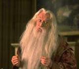 Richard Harris jako profesor Albus Dumbledore /