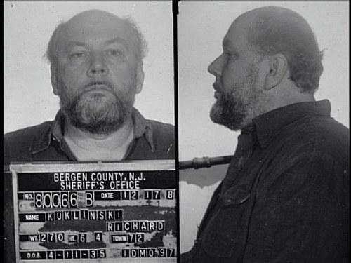 Richard Kukliński w policyjnej kartotece /materiały prasowe