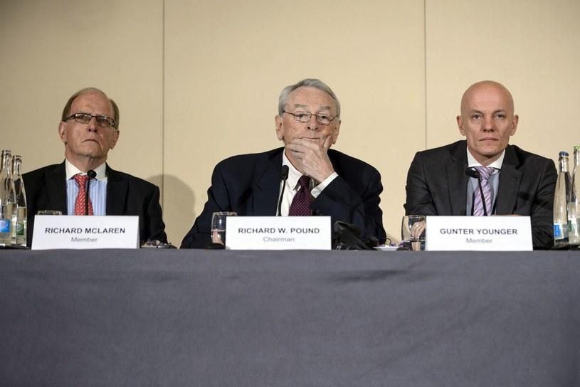 Richard McLaren (pierwszy z lewej) /AFP