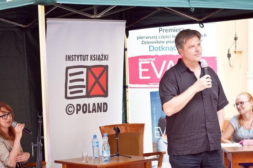 Richard Paul Evans w Polsce /Wydawnictwo Znak