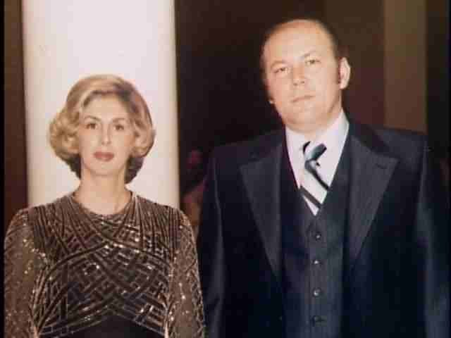 Richard z żoną Barbarą /materiały prasowe