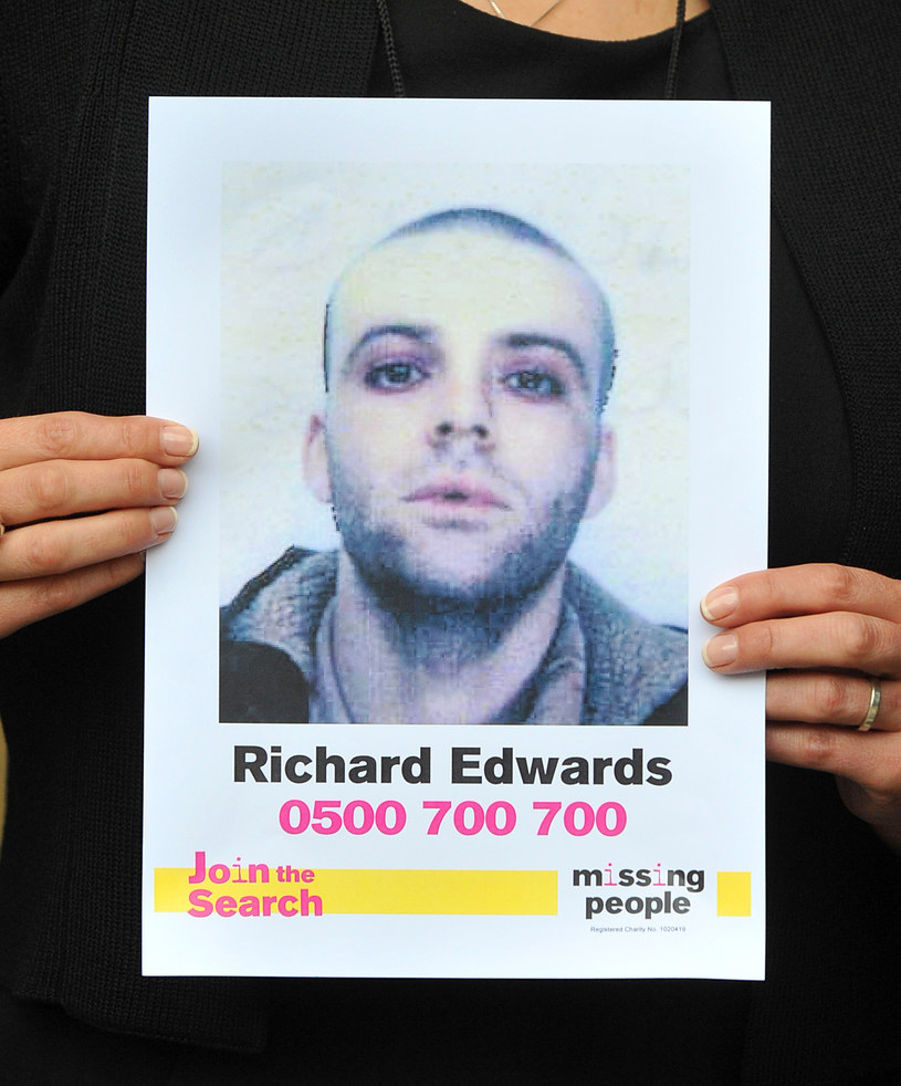 Richey james Edwards jest poszukiwany od 24 lat /Clive Gee - PA Images /Getty Images
