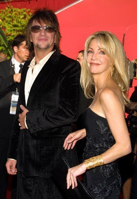Richie Sambora i Heather Locklear /arch. AFP