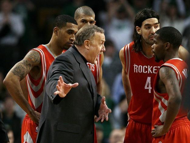 Rick Adelman po czterech latach pracy w Houston nie jest już trenerem Rockets /AFP