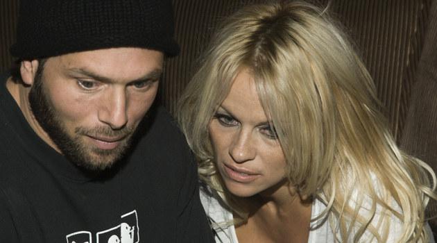 Rick Salomon, Pamela Anderson  /Splashnews