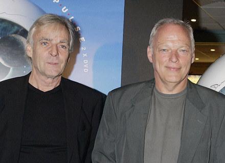 Rick Wright z przyjacielem Davidem Gilmourem - fot. Jo Hale /Getty Images/Flash Press Media