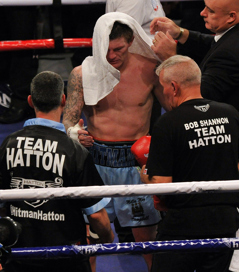 Ricky Hatton /AFP