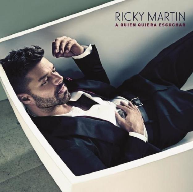 """Ricky Martin na okładce płyty """"A Quién Quiera Escuchar"""" /"""