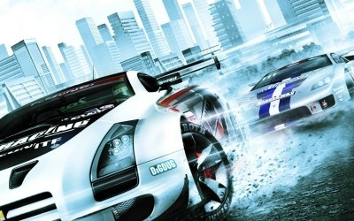 Ridge Racer 7 - fragment okładki z gry /Informacja prasowa