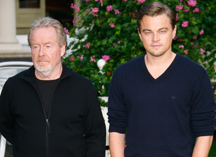 Ridley Scott i Leonardo DiCaprio / fot. Julien M. Hekimian /Getty Images/Flash Press Media