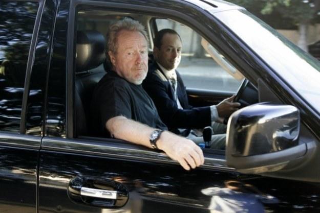 Ridley Scott, legendarny reżyser i artystyczny architekt całego przedsięwzięcia /AFP