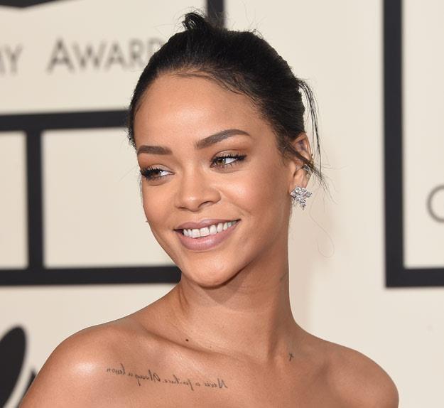 Rihanna: Dziękuję Bogu za każdy dzień (fot. Jason Merritt) /Getty Images