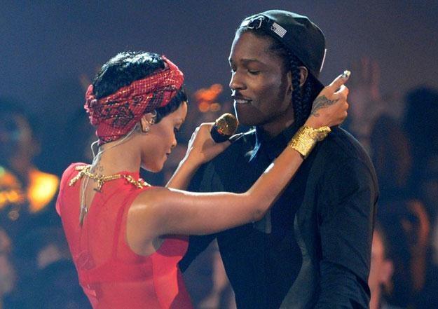 "Rihanna i A$AP Rocky: ""Masz ochotę na blanta?"" fot. Kevin Winter /Getty Images/Flash Press Media"