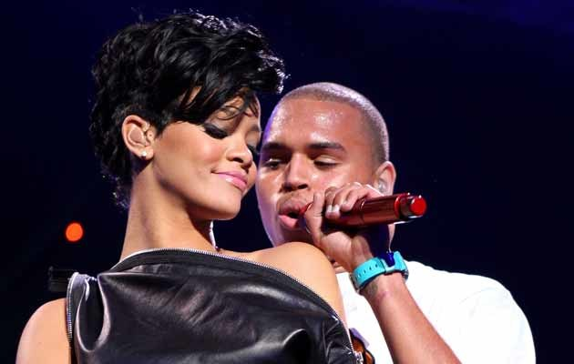 Rihanna i Chris Brown 2008 roku, fot. Scott Gries   /Getty Images/Flash Press Media