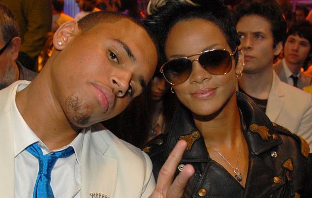 Rihanna i Chris Brown, fot. Frank Micelotta  /Getty Images/Flash Press Media