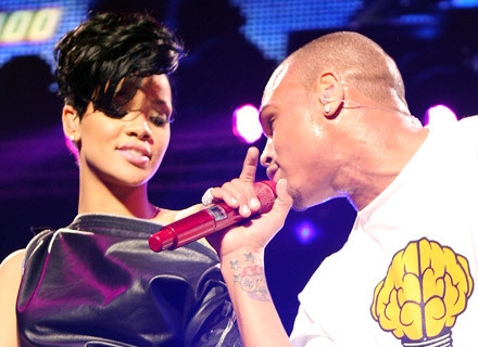 Rihanna i Chris Brown - fot. Scott Gries /Getty Images/Flash Press Media