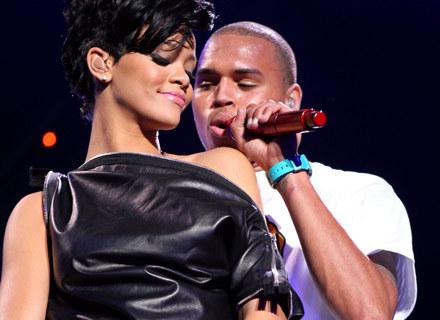 Rihanna i Chris Brown razem na scenie - fot. Scott Gries /Getty Images/Flash Press Media