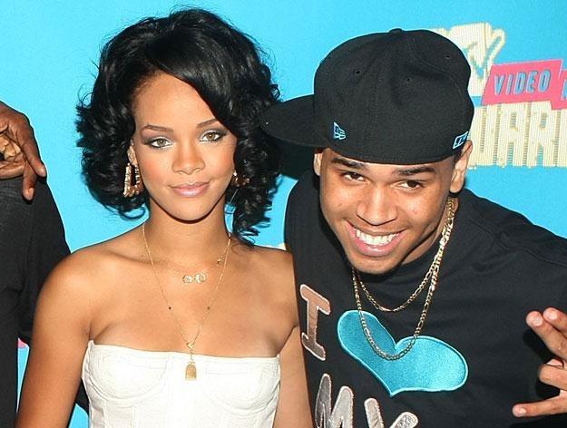 Rihanna i Chris Brown w szczęśliwszych czasach fot. Scott Gries /Getty Images/Flash Press Media