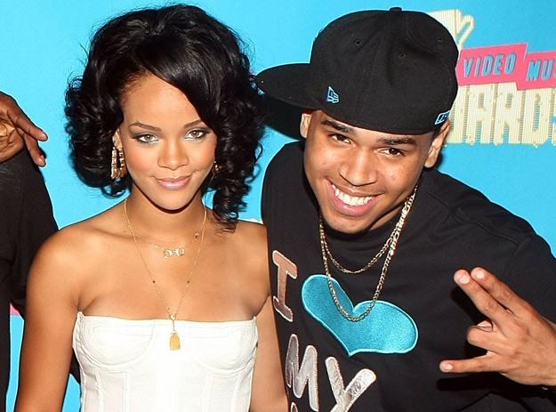 Rihanna i Chris Brown w zamierzchłej przeszłości (jeszcze przed pobiciem) - fot. Scott Gries /Getty Images/Flash Press Media