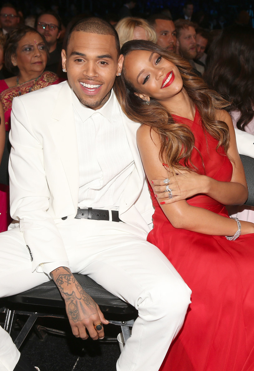 Rihanna i Chris Brown /Cristopher Polk /Getty Images