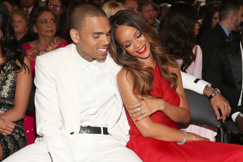 Rihanna i Chris Brown /Christopher Polk /Getty Images
