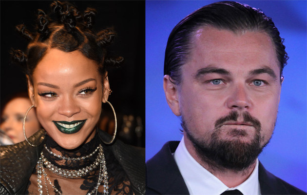 Rihanna i Leonardo DiCaprio /Jason Merritt, Alex Wong /Getty Images