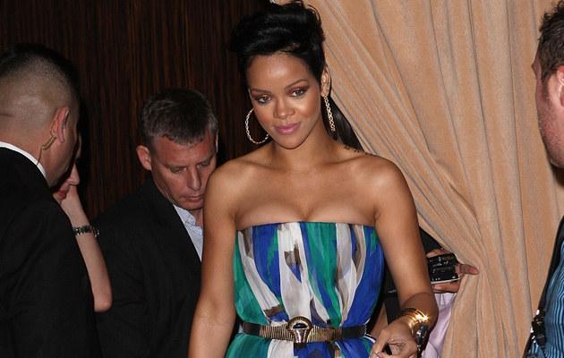 Rihanna na dzień przed pobiciem, fot. Jason Merritt  /Getty Images/Flash Press Media