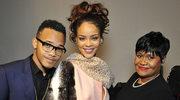 Rihanna na pokazie Diora z mamą i bratem