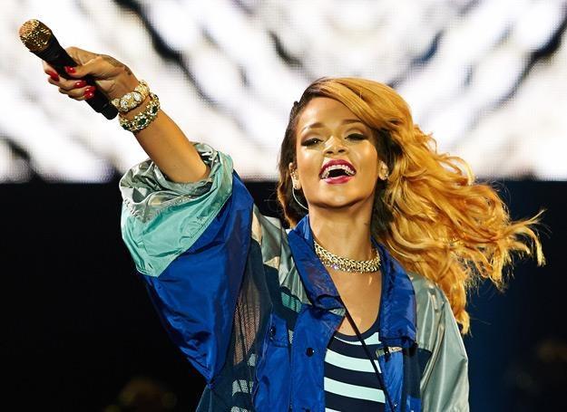 Rihanna na scenie w Gdyni - fot. Adam Warżawa /PAP