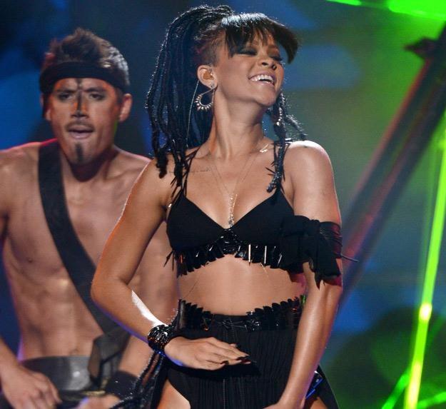 Rihanna nie jest zadowolona ze swojej figury - fot. Mark Davis /Getty Images/Flash Press Media