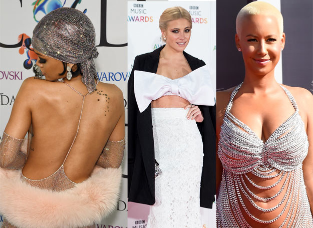 Rihanna, Pixie Lott i Amber Rose /Getty Images