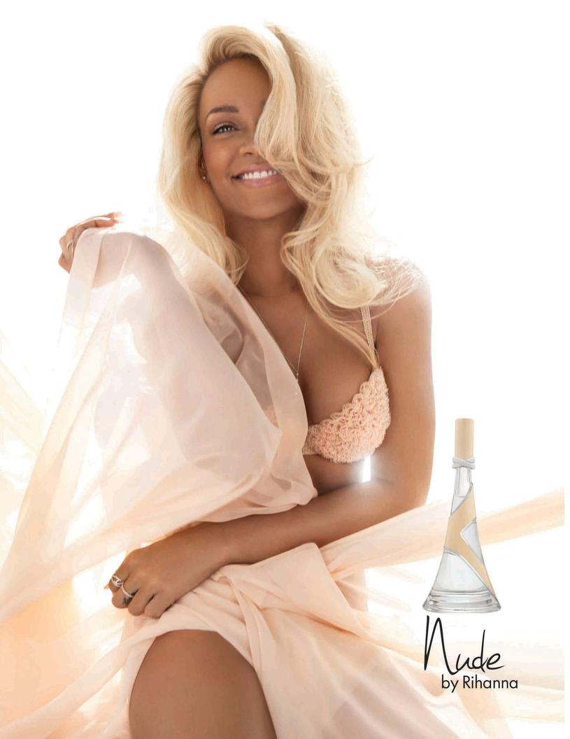 Rihanna prezentując swoją kolekcję bielizny nude oferuje aż siedem odcieni nude. /East News