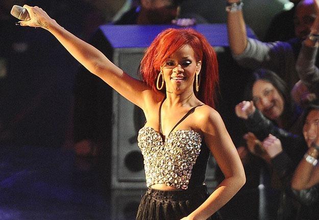 Rihanna prezentuje ubrania wprost z wybiegów fot. Jason Merritt /Getty Images/Flash Press Media