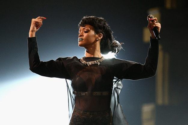 Rihanna się zagalopowała? (fot. Cameron Spencer) /Getty Images/Flash Press Media