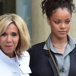 Rihanna spotkała się z Brigitte Macron. Założyła takie ciuchy