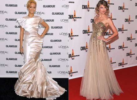 Rihanna, Taylor Swift /Getty Images/Flash Press Media
