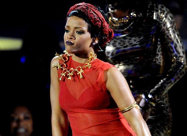Rihanna uwielbia prowokacje - fot. Kevin Winter /Getty Images/Flash Press Media