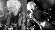 Rihanna w burleskowym stylu lat 20.