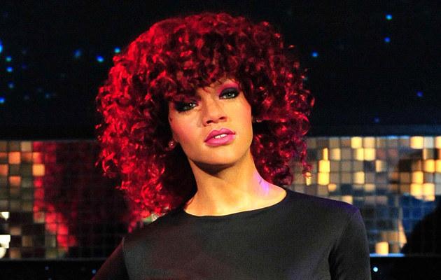 Rihanna w Muzeum Figur Woskowych Madame Tussaud  /Splashnews
